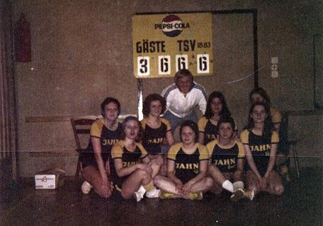Damenmannschaft 1973